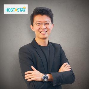 Jordan Oon, HostAStay's CEO